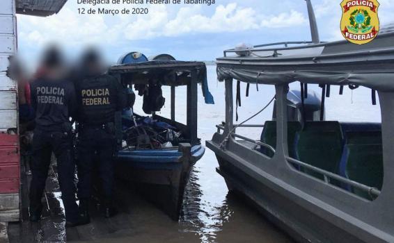image for Apreende mais de 2 toneladas de pirarucu em Tabatinga