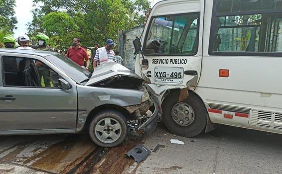 image for Accidente en la vía Leticia-Tarapacá