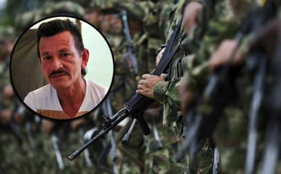 Foto de  Rodrigo Cadete abatido por militares