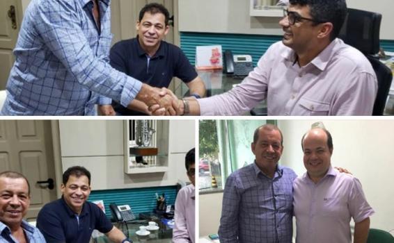 image for Prefeito Saul visitando o secretário de cultura do Amazonas