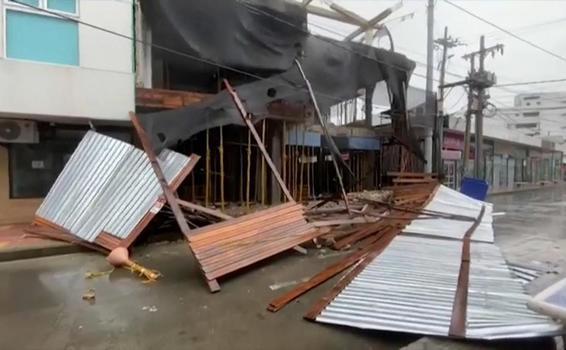 image for Providencia queda devastada tras el paso de huracán Iota