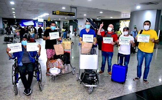 image for pacientes recuperados de Covid-19 retornaram para Manaus