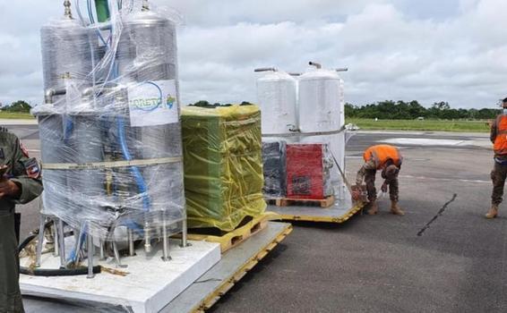 image for Llega  planta de oxígeno a la ciudad de Pucallpa