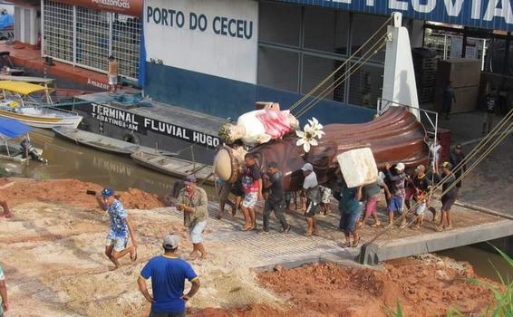 image for Município de Santo Antônio do Iça recebe imagem do padroeiro