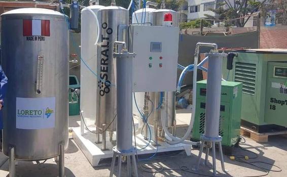 image for Nueva planta de oxígeno adquirida por el gobierno regional