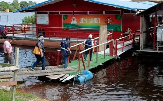 image for Flutuantes que funcionam como restaurantes começaram a ser fiscalizados