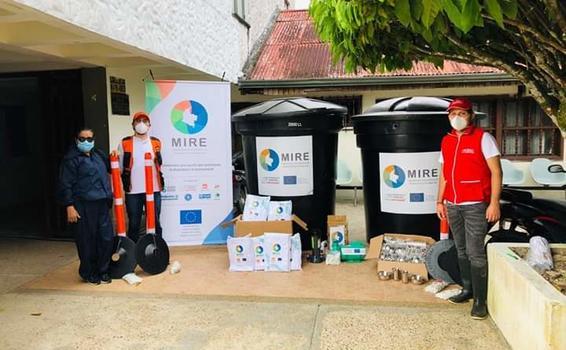 image for EU Civil Protection & Humanitarian Aid - ECHO entrega ayudas en Leticia