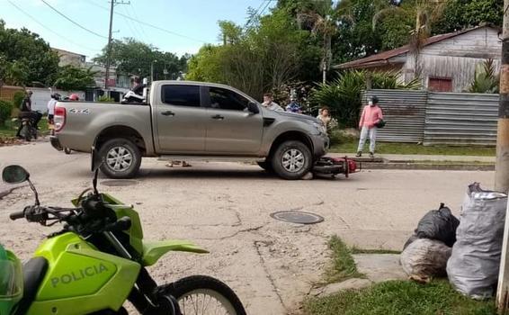 image for Accidente en calle 9 con carrera 8