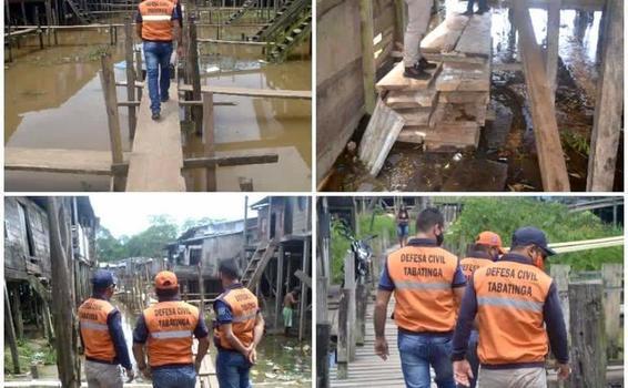image for Prefeitura revisa retirada de madeira para construção da ponte