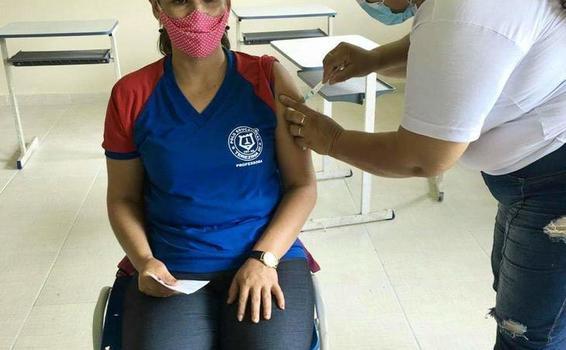 image for Campanha de vacinação contra a Covid-19 esta seguindo com sucesso o cronograma