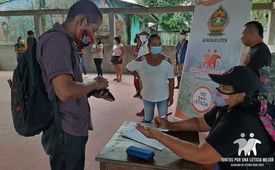 image for Entrega de ayudas humanitarias destinadas para las comunidades indígenas
