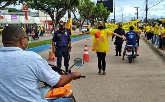image for Ação de conscientização Setembro Amarelo