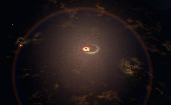 image for Detectan llamaradas regulares en una galaxia distante