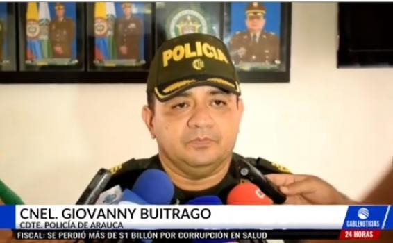 Coronel Giovanny Buitrago
