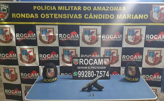 image for Detêm jovem em posse de arma de fogo ilícita