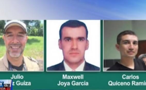 Tres personas Liberados por el  Eln