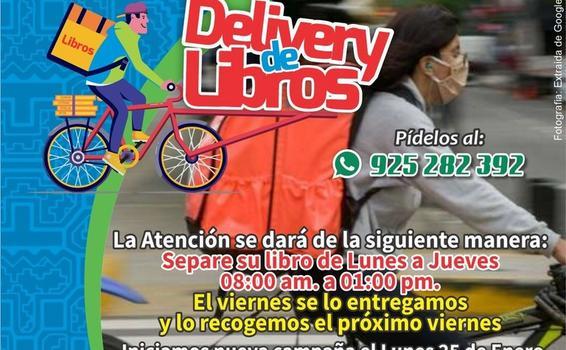 image for Reactivan servicio gratuito de Delivery de Libros