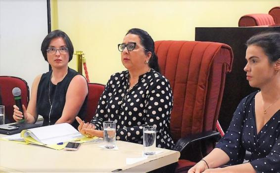 Mulheres em um escritorio