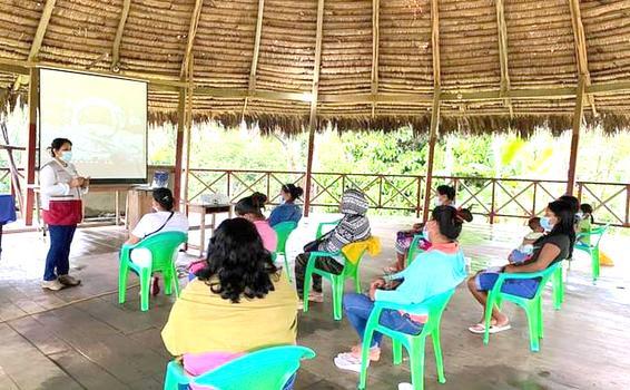image for Mujeres indígenas conforman núcleo ejecutor