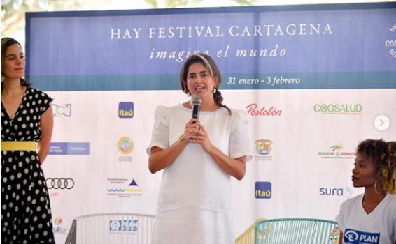 Maria Juliana Ruiz en intervencion en