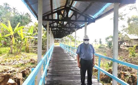 image for Municipalidad de Pebas construye puente