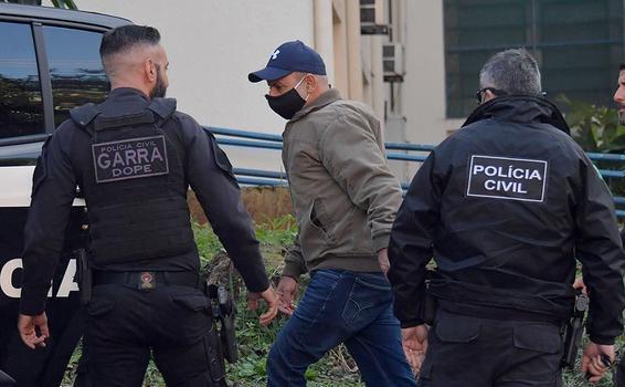 image for Ex-assessor de Flávio Bolsonaro é preso em Atibaia