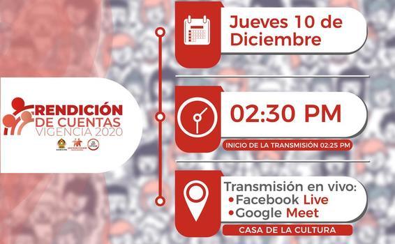 image for Rendición de Cuenta / Alcaldía de Leticia