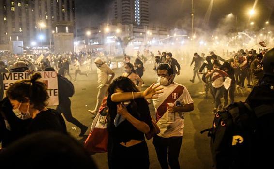 image for Policía de Perú hizo uso innecesario y excesivo de la fuerza / ONU
