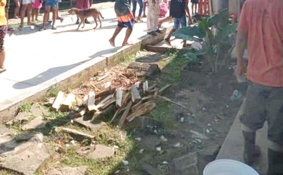 image for Incendio deja una casa destruida en el distrito de Saquena