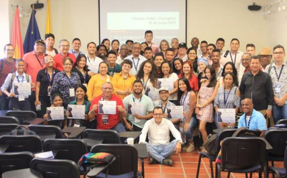 image for Cartagena acogió el octavo taller de periodismo digital