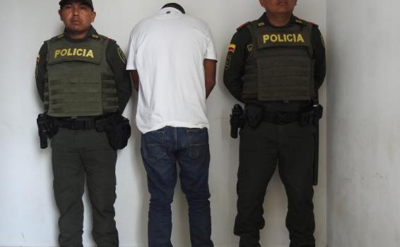 image for Por delitos de Trafico de Estupefacientes fue capturado sujeto en el Aeropuerto Vasquez Cobo