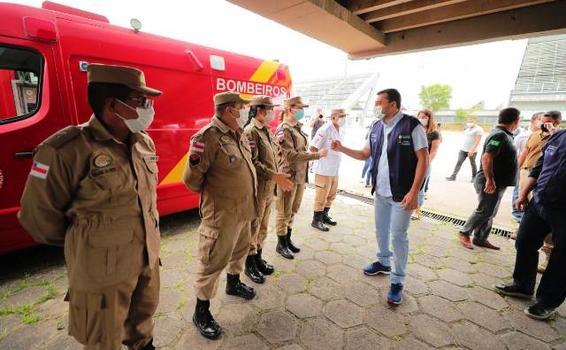 image for Governo do Amazonas inicia vacinação das forças de segurança