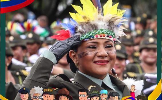 El Departamento de Policía Amazonas los invita para que este 20 de Julio