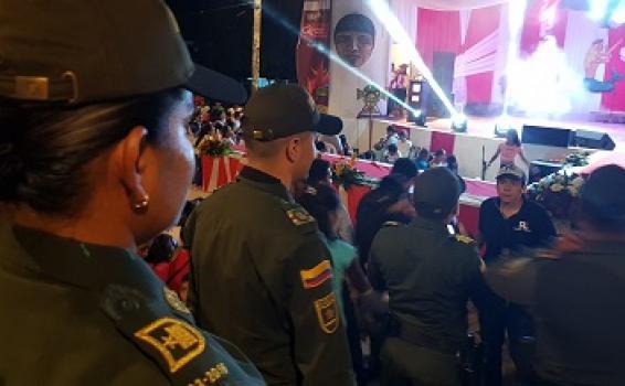 AVANZA FESTIVAL EN LA NOCHE DEL PERÚ CON LA SEGURIDAD QUE BRINDA LA POLICÍA