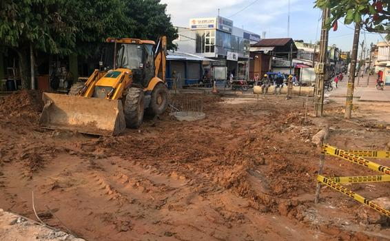 Relleno de obra en el Malecón