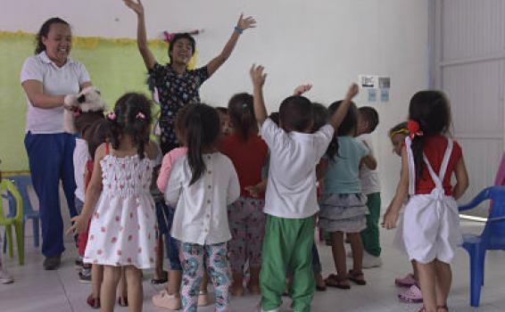 ICBF inicia en febrero la atención a 1.750.000 niñas y niños de Primera Infancia