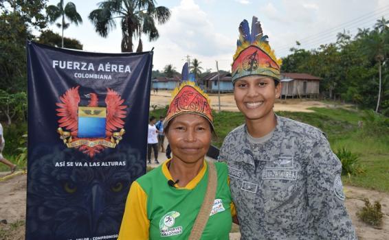 Campaña incentiva la prevención del reclutamiento forzado en el Amazonas
