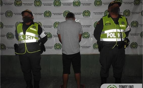 POLICÍA HACE EFECTIVA ORDEN JUDICIAL POR EL DELITO DE VIOLENCIA INTRAFAMILIAR