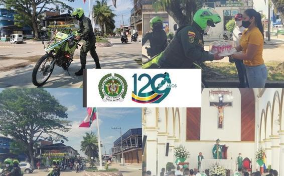 POLICÍA NACIONAL CONMEMORÓ EL ANIVERSARIO 129