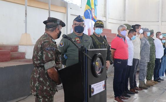 Fuerzas Militares de Colombia y Brasil estrechan relaciones para beneficiar a sus compatriotas