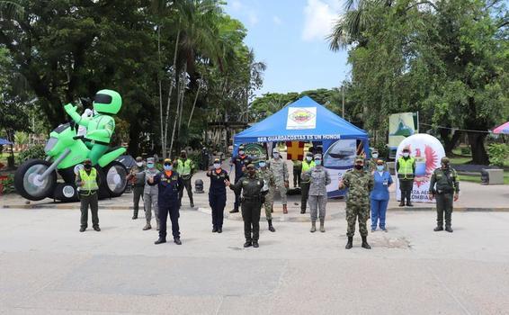 Fuerzas Militares y Policía Nacional se unen para trabajar por el Amazonas