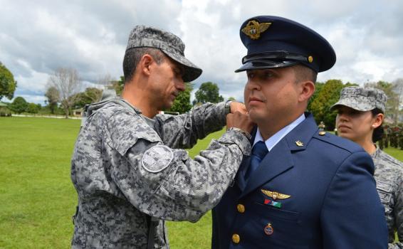 Con honores se realizó la ceremonia de ascenso de oficiales en el Amazonas