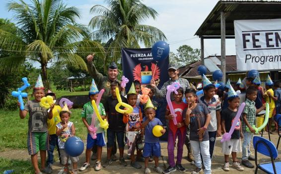 Con trabajo unificado las Fuerzas Militares de Colombia realizaron Jornada de Apoyo al Desarrollo en el Amazonas