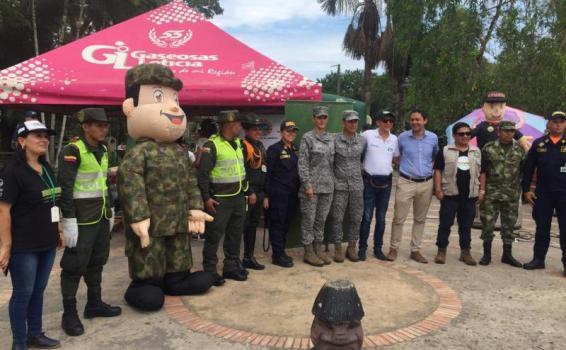 Grupo Aéreo del Amazonas participa en la tercera Jornada de Recolección de Residuos de Posconsumo