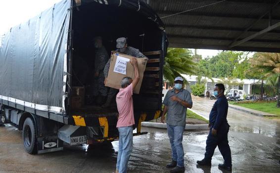 Hospital San Rafael de Leticia, recibió insumos médicos y elementos de bioseguridad