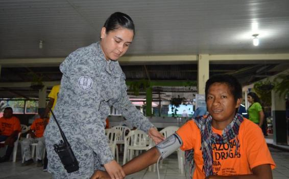 1.344 pacientes fueron beneficiados con Jornada de Apoyo al Desarrollo de la Fuerza Aérea Colombiana en el Amazonas