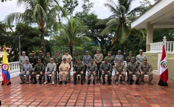 Fuerza Aérea Colombiana participa en la Reunión de Mandos Regionales: Colombia - Perú