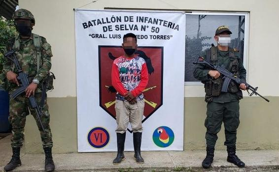 POLICÍA EN PUERTO SANTANDER CAPTURA UN HOMBRE POR COMETER DAÑOS AMBIENTALES