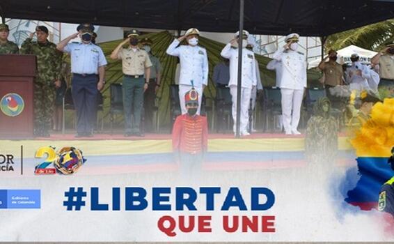 CONMEMORAMOS LOS 211 AÑOS DE INDEPENDENCIA DE COLOMBIA EN EL AMAZONAS