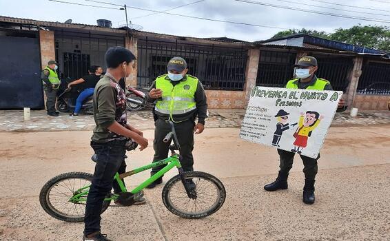 CAMPAÑAS PREVENTIVAS CONTRA EL HURTO A PERSONAS Y MOTOCICLETAS